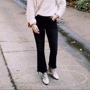 Madewell Black Cali-Demi Jeans